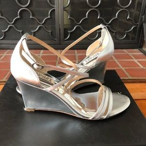 Badgley Mischka Bonanza Wedge Heel, Size 8